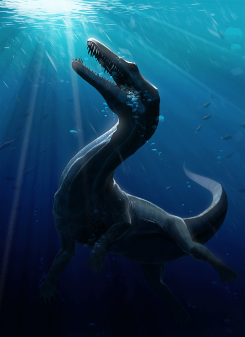Nothosaur_1 by SADistikKnight