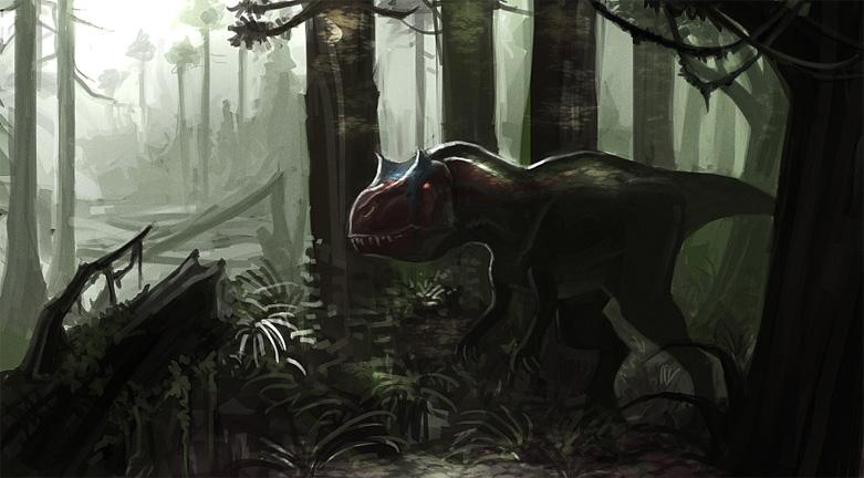 Allosaurus_1 by SADistikKnight