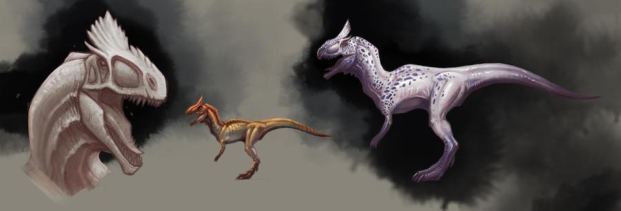 Cryolophosaurus_1 by SADistikKnight