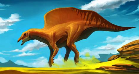 Ouranosaurus_1 by SADistikKnight