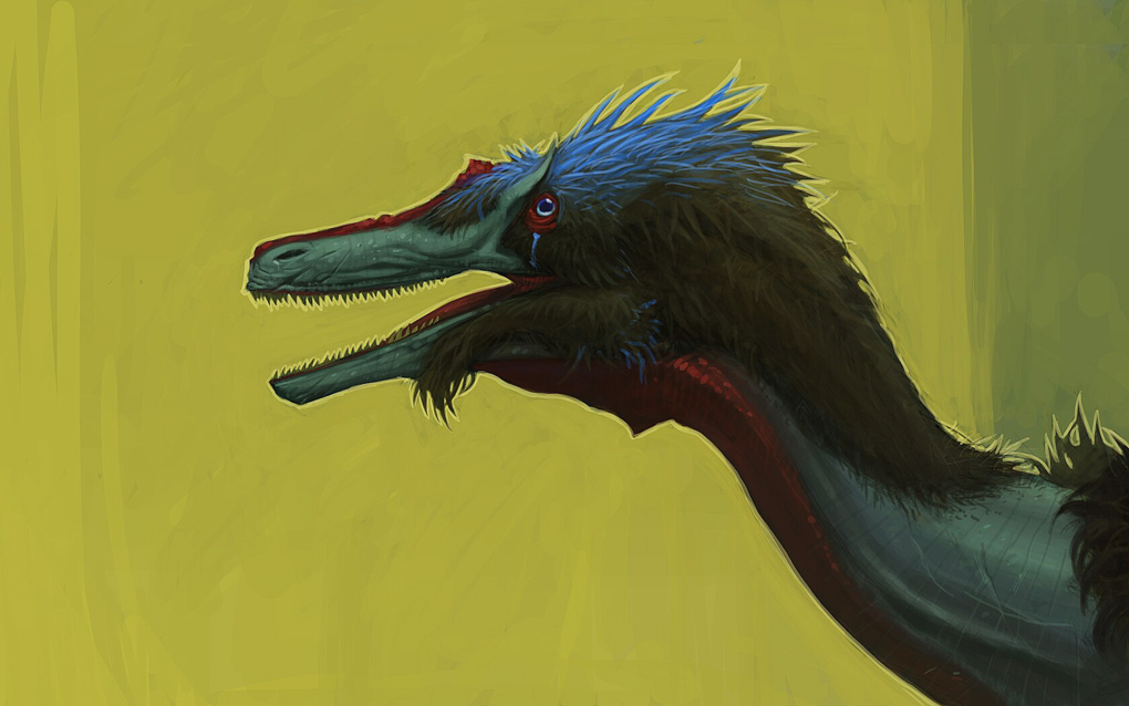 Austroraptor_Profile_1 by SADistikKnight