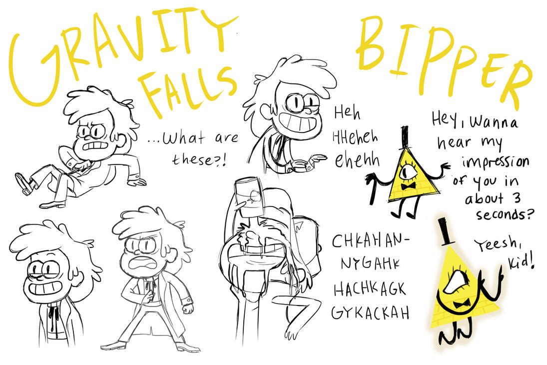 Bipper Sketches by XxMoonlightWolveXx