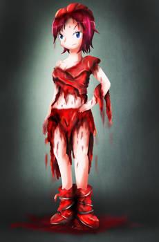 Becky's Meat Dress