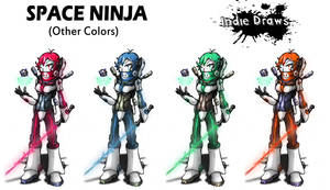 Space Ninja (Other Colors)