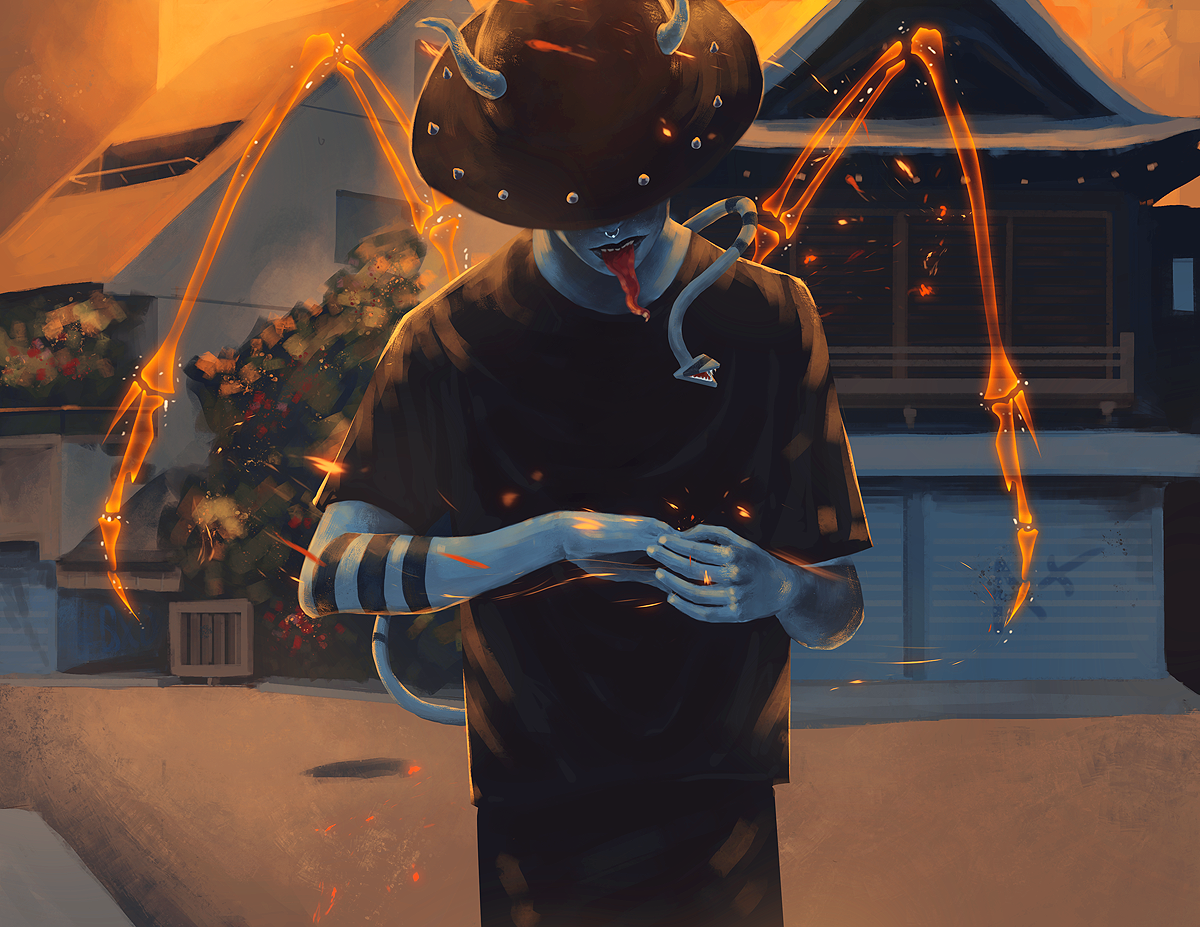 Demon Boy by andr0gynous
