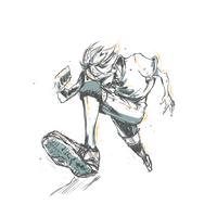 Shouyou Hinata by andr0gynous