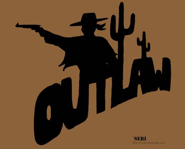 Outlaw Logo by bySeri