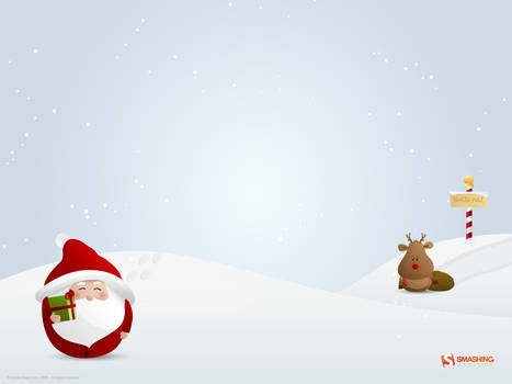Hurry up, Rudolph