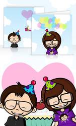Birthday Card by Maquita