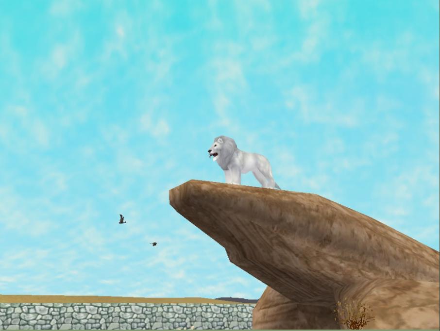 Zoo Tycoon 2: White Lion by Phillip-Neumeier on DeviantArt