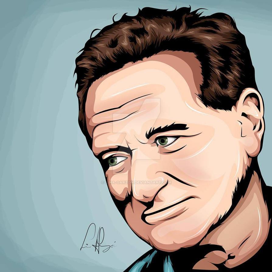 Robin Williams Tribute by Lina-Garzon