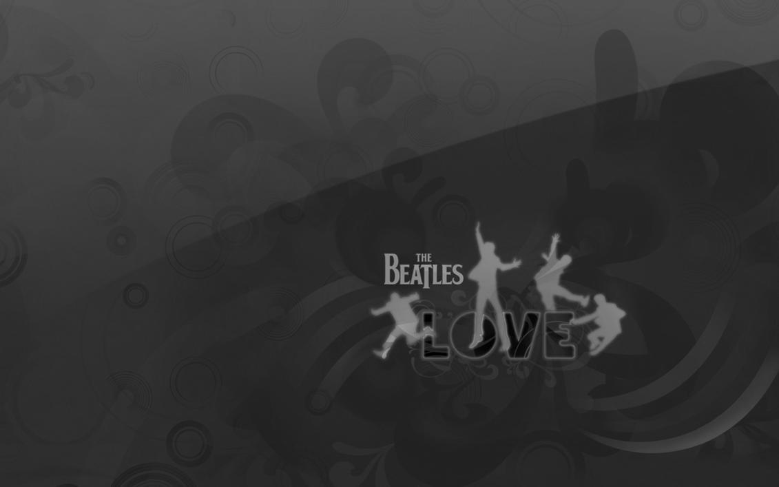 Black And White Beatles Love By Minoltaman93