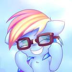 Ponies call me Reading Rainboom