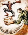 Spider-man VS Sandman