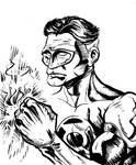 Green Lantern Sketch by Lord
