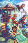 JLA Kids by Tim Lattie and Ryan Lord