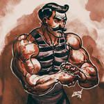 Strong Man Inktober 2015