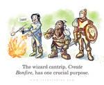 Wizard Bonfire