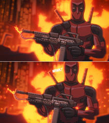Deadpool Animation in After Effects