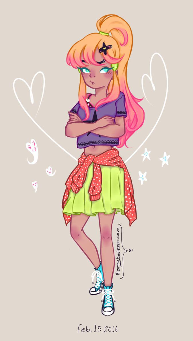 Melody The Tsundere Girl