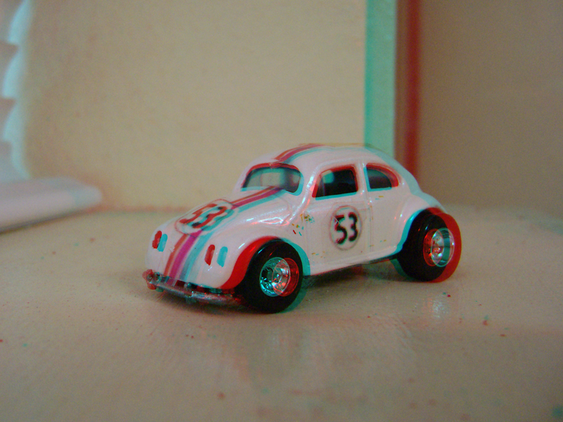 Custom Hot Wheels Herbie in 3D by LittleBigDave