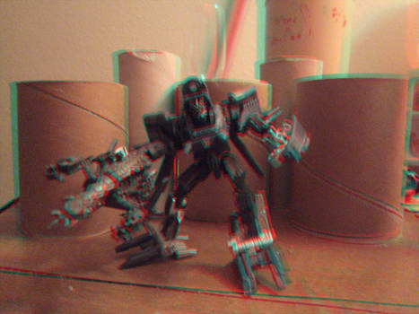 Decepticon Blackout in 3D