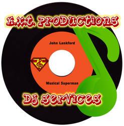 KXT Productions Business Logo