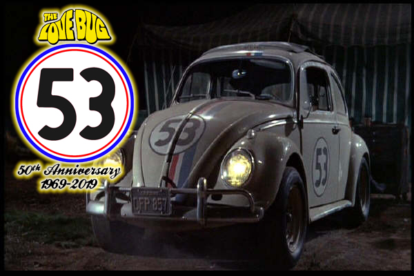 Herbie the Love Bug 50th Anniversary by LittleBigDave