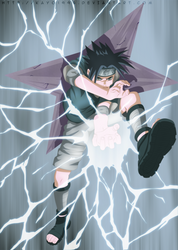 Chidori Sasuke by IKashos