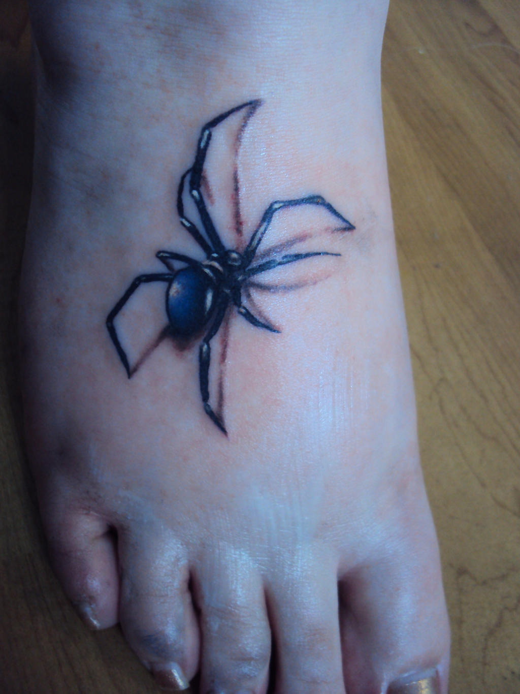 Spider Tattoo by AmeliaEerie