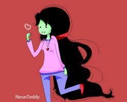 Marceline On The Rush by NeonTeddyForever