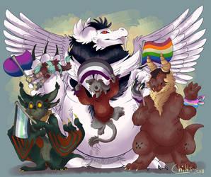 Wild Pride by Skogskisse