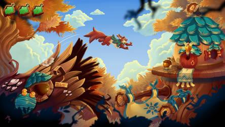 Acorn Quest - A Squirrel's Tale