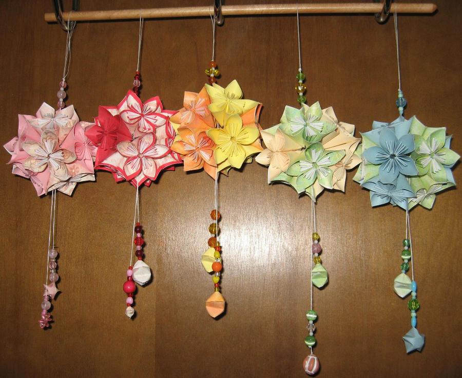 Kusudama flower ball ornaments by assassinedangel on deviantart kusudama flower ball ornaments by assassinedangel mightylinksfo