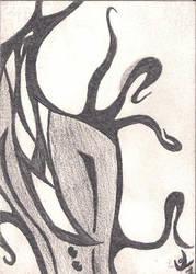 SlenderMan Card 1/10 by RogerArtyTurtle