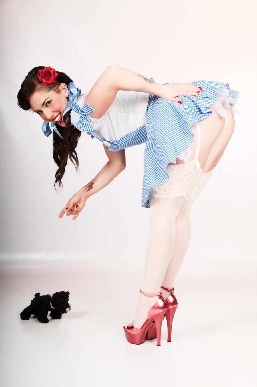 Dorothy Gone Bad-2 by Foto-Retro