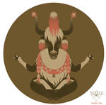 A to Z: Animal Zen | Y is for tibet Yak