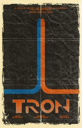 TRON Poster LARGE