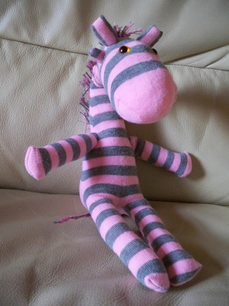 Sock Giraffe by Kat2805