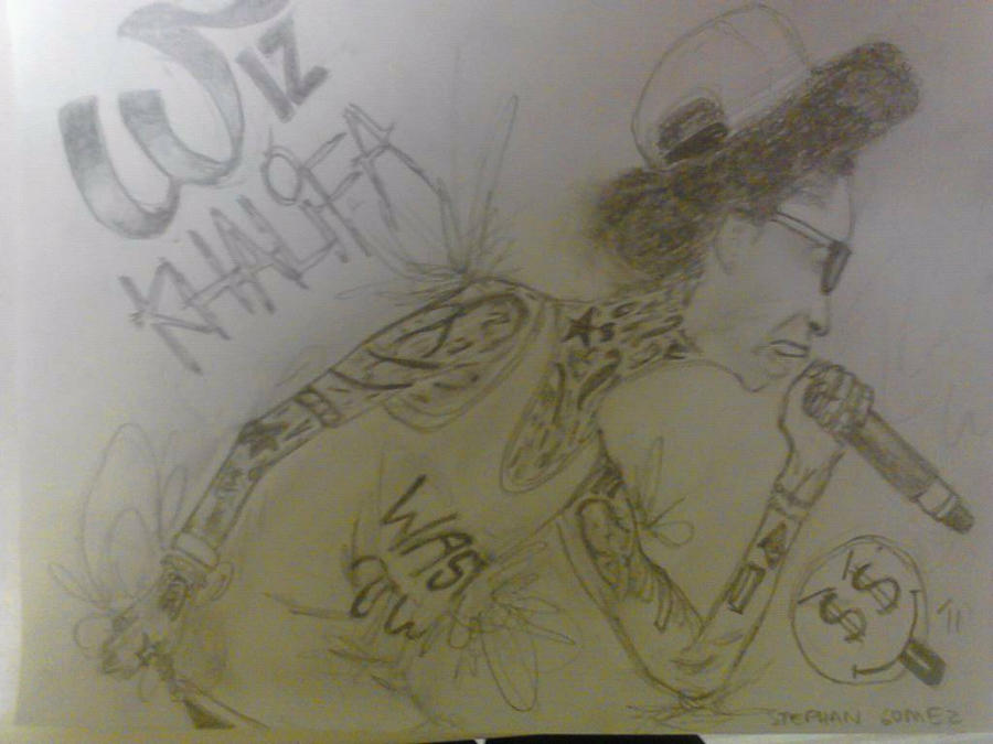 Skinny Wiz Khalifa by stephangomez