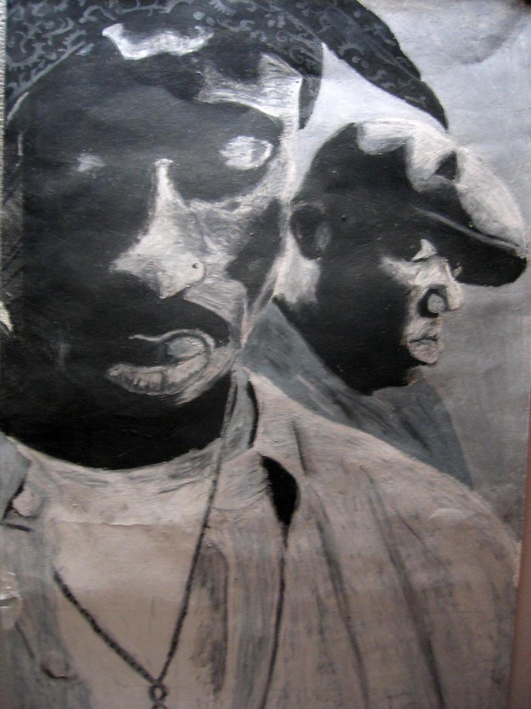 Tupac and Biggie by rEk-1