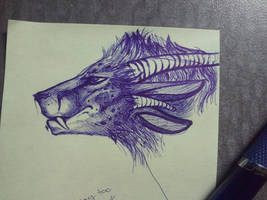 .: Charr Post-It Doodle :. by rhase