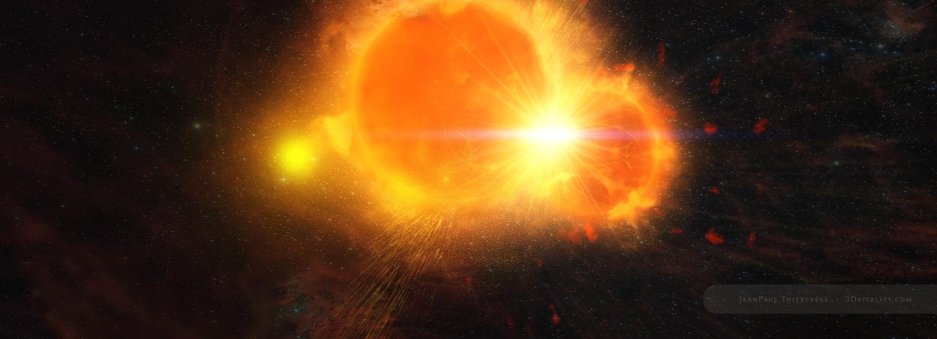 Cosmic Crash by 3DVitality