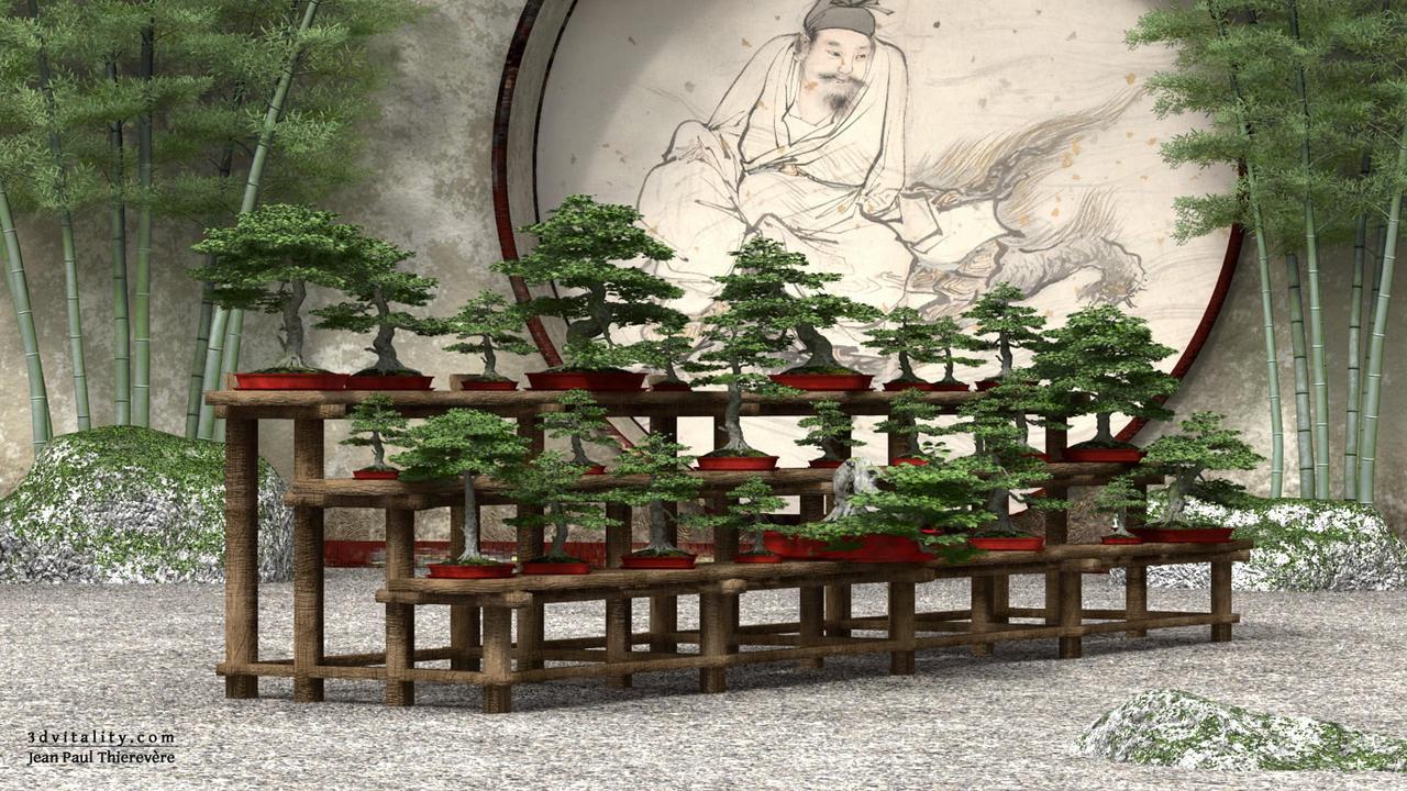 Little Bonsai Garden by 3DVitality