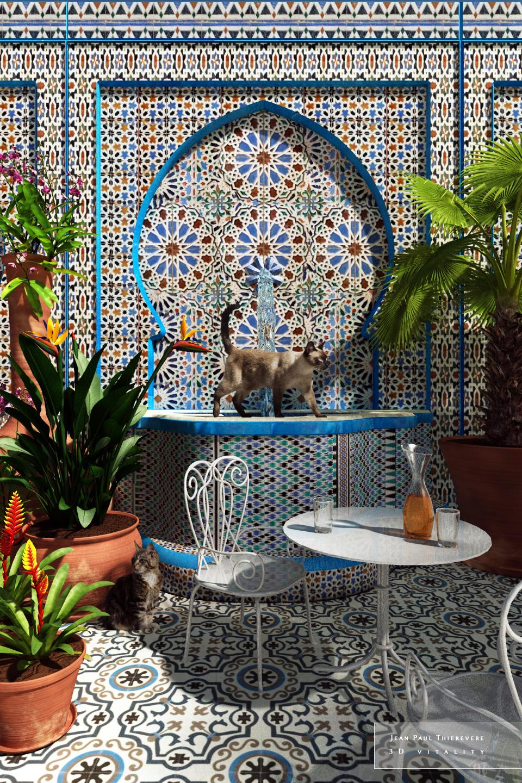 Oriental Garden by 3DVitality