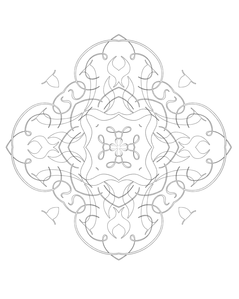 99 2015 Meditation Mandala by bcre80v