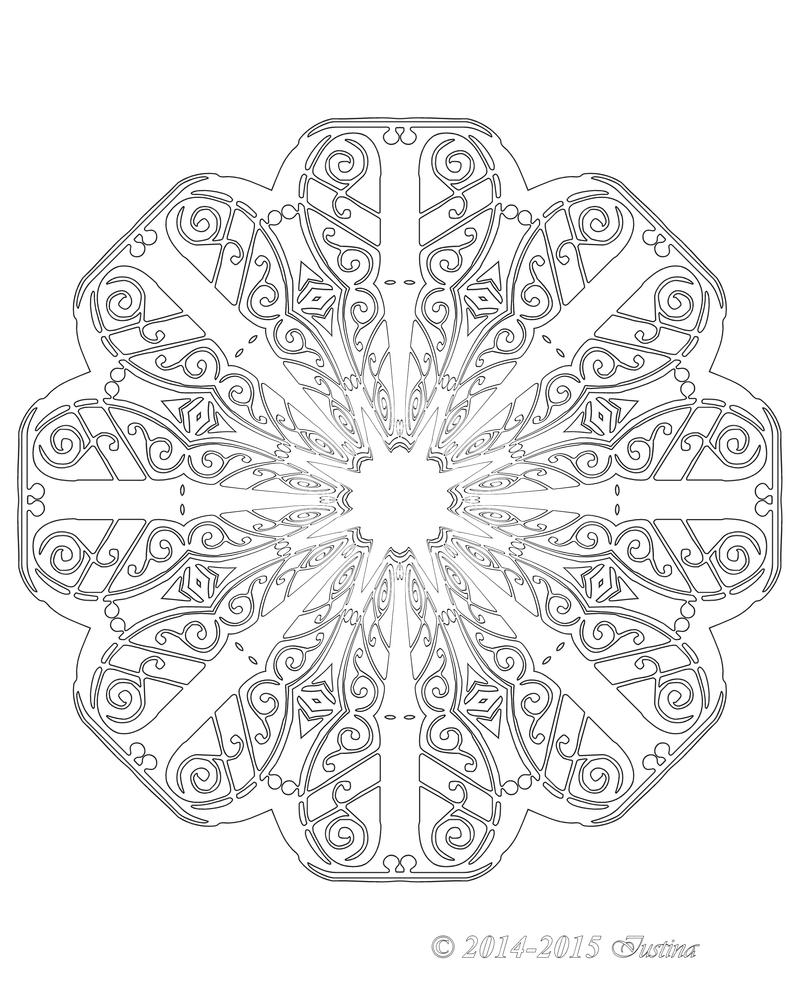 042 JOYOUS mandala by bcre80v