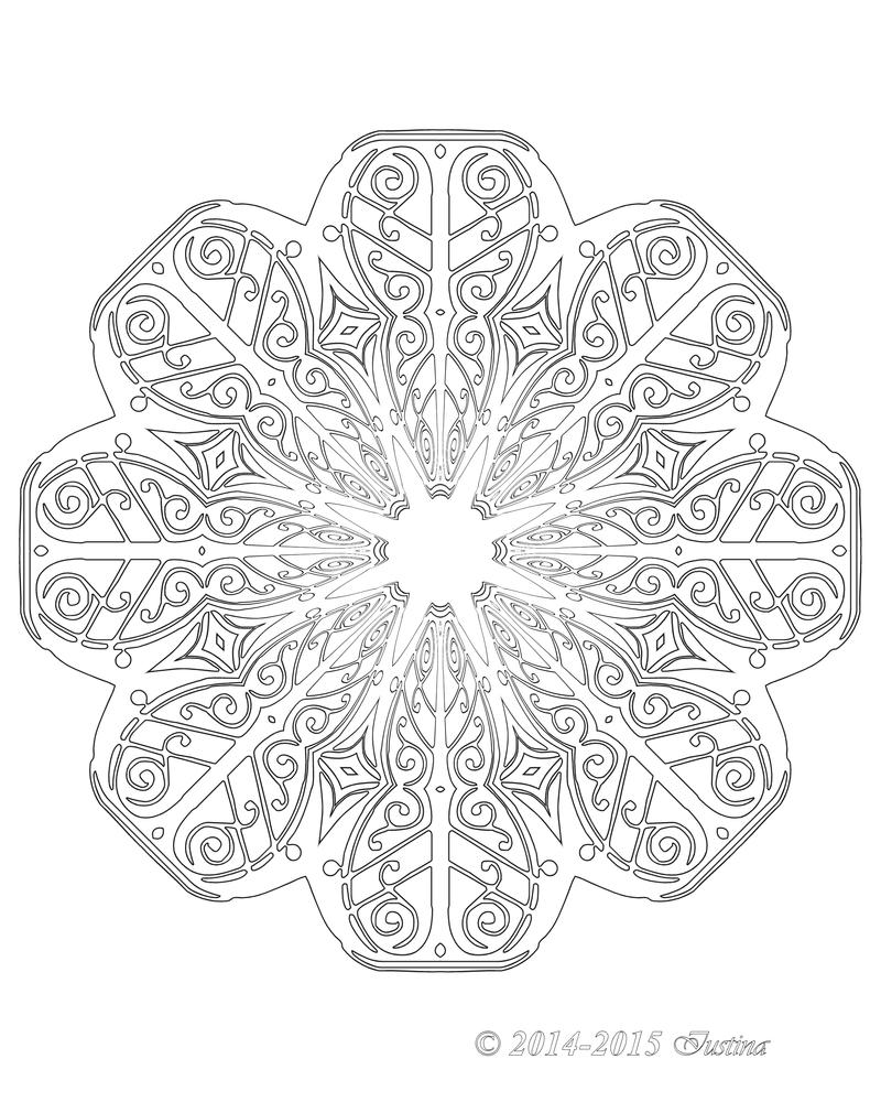 043 JOYOUS mandala by bcre80v