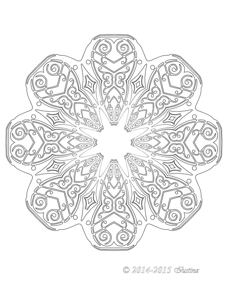 044 JOYOUS mandala by bcre80v