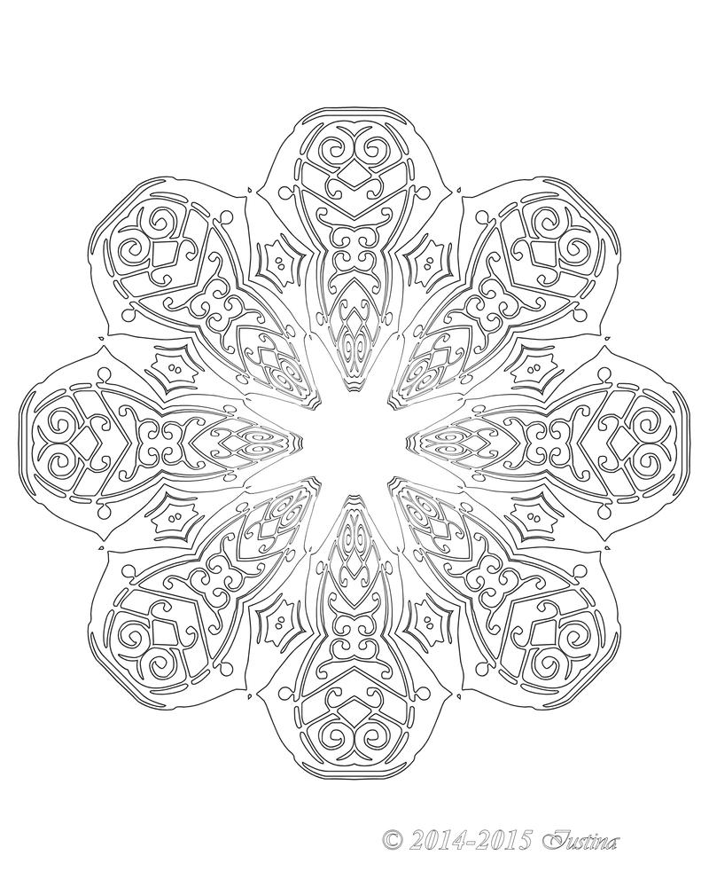 045 JOYOUS mandala by bcre80v